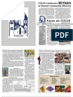 In FOCUS Newsletter - Spring & Summer 2007
