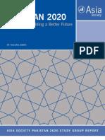 As Pakistan 2020 Study Group Rpt