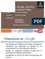 Caso YouTube - Google