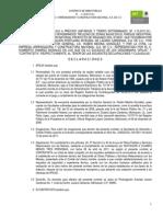 CONTRATO DE OBRA PÚBLICA A PRECIOS UNITARIOS Y TIEMPO DETERMINADO