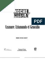 Casanare, Exhumando El Genocidio