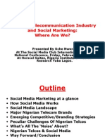Telcos in Nigeria and Social Media
