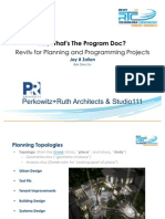 Session 4 Ah Whats the Program Doc Revit for Planning Jay Zallan Presentation