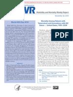 MMWR 2010 Report