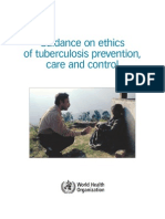 Guidance on Ethics of TB