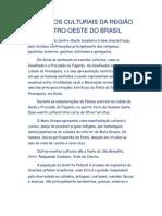ASPECTOS CULTURAIS DA REGIÃO CENTRO