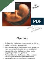Fertilisation & Fetal Development