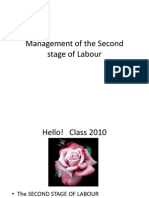 Managament of the 2nd Stage of Labour