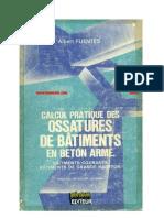 Calcul Pratique Des Ossatures en Ba-Albert Fuentes
