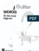 Easy Guitar Solos - For the Total Beginner