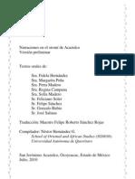 Textos orales en el otomí de Acazulco