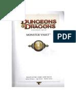 D&D Essentials - Monster Vault
