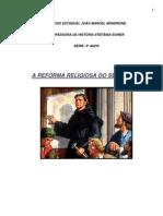 Precusores Das Reformas Religiosas