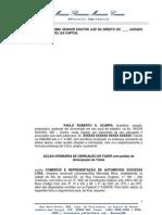 AÇÃO ORDINÁRIA DE OBRIGAÇÃO DE FAZER com pedido de  Antecipação de Tutela