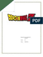 Trabajo Dragon Ball Z