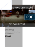 Die Kadrierung der Macht bei David Lynch