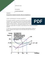 Taller Estructura de Mercado