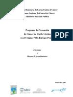 programa de prevencion del cancer de cuello utero.Uruguay