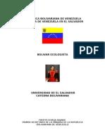 Bolivar Ecologist A