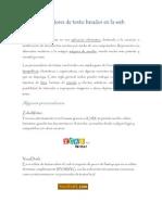 Procesadores de Texto Basados en La Web