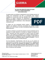 22-06-11 DISCURSO DEL DIPUTADO SEBASTIÁN LERDO DE TEJADA - cdis