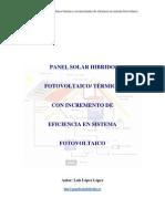 Panel Solar Hibrido Fotov Con Increm de Efici en El Sist Fotovol