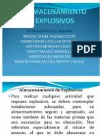 Expo de Almacenamiento de Explosivos