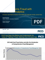 FICO Insurance Fraud Webinar April 2011