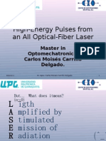 High-Energy Pulses From an All Optical-Fiber Laser