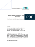 Ab Initio Methods for Electron Correlation In