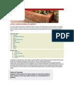 Cómo construir jardinera de ladrillos
