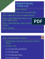 Giáo trình Excel nâng cao - TUD