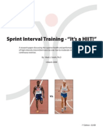 Sprint Interval Training[1]