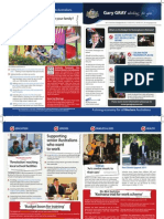 2011 Budget Newsletter