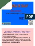 Capacitación para agentes sanitarios, Enf de Chagas, Leticia Gomez, Junio de 2011