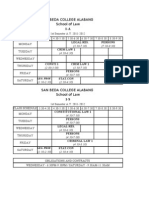 Class Sched 1st 2011-2012
