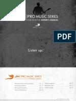 User Guide Promusic