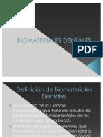 BIOMATERIALES DENTALES