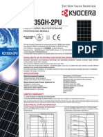 Kyocera KD135GH-2PU Panels