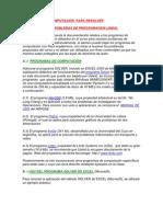PROGRAMAS DE COMPUTACIÓN