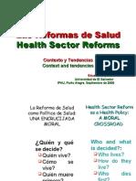 Las Reformas de Salud en Latinoamerica