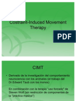 Costraint-Induced Movement Therapy