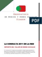 Reporte 1 Consulta 2011