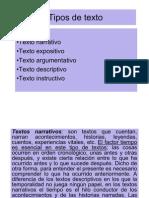 Tipos de texto - 2011 - 22