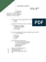 LOW Power VLSI Design Paper PESCE