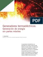 Generadores Termoelectricos