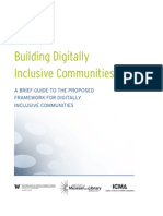 IMLS Releases Preview of Framework for Digitally Inclusive Communities