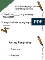 Uri Ng Pang-Abay