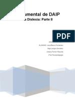 Documental DAIP La Dislexia