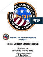 PowerPoint Presentation on Hiring USPS PSEs